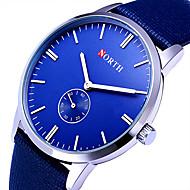 Mulheres Relógio Militar Relógio Elegante Relógio de Moda Relógio de Pulso Relógio Esportivo Quartzo Colorido Couro Banda Vintage Casual