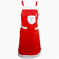 kerstman schort diner keuken tafeldecoratie home party decor xmas pinafore partij schort