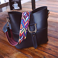 Women Bags PU Shoulder Bag for Casual Outdoor Black Red Pink