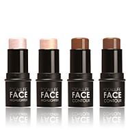 Ensfarvet Highligthers og bronzers Overstregningspenne Tør / Mat / Glans Blegende / Farvet glans / Længerevarende Ansigt Kina Makeup Kosmetiske