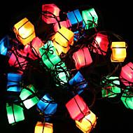 jul dekoration lys gavepose artiklen førte twinkle lys træet lyser foråret festival dekoration 28lamp sokkel