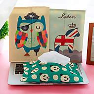 algodão conjuntos de toalha dos desenhos animados cobre tecido (cores aleatórias)