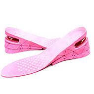 お買い得  インソール&インサート-2本 フィットネス、ランニング&ヨガ 中敷き&インサート PVC 靴全体 オールシーズン 女性用 ブラック パープル ピンク