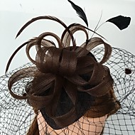feather net fascinators birdcage veils headpiece elegant style