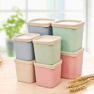 pot selo tampa de plástico haste do trigo simples (cores aleatórias)