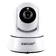 お買い得  屋内IPネットワークカメラ-WANSCAM 1.0 MP 屋内 with 赤外線カット 64G(デイナイト モーション検出 デュアルストリーム リモートアクセス プラグアンドプレイ ワイファイ・プロテクテッド・セットアップ(WPS)) IP Camera