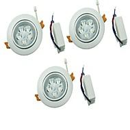 billige Innfelte LED-lys-YouOKLight 450 lm 5 LED perler Led-Nedlys Varm hvit Kjølig hvit 100-240 V Hjem / kontor Stue / spisestue Soveværelse / 3 stk.