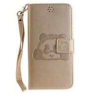 billiga Mobil cases & Skärmskydd-fodral Till Xiaomi Korthållare Plånbok med stativ Lucka Mönster Läderplastik Fodral Djur Hårt PU läder för Xiaomi Redmi Note 4 Xiaomi