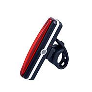 Pyöräilyvalot / turvavalot LED LED Pyöräily Kompakti koko / Erityiskevyet Litium-paristo 100 Lumenia USB Punainen Pyöräily-Valaistus