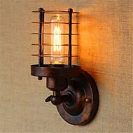 AC 110-120 AC 220-240 40 E26/E27 Rustiikki Kantri Antiikkimessinki Ominaisuus for Lamppu sisältyy hintaan,Ympäröivä valo Wall Light