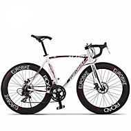 Cestovni bicikli Biciklizam 14 Brzina 26 inča/700CC 60mm Muškarci / Uniseks Odrasla osoba SHIMANO A050 Dvostruka disk kočnicaBez