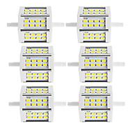 6本 250-300lm R7S LEDフラッドライト チューブ 24 LEDビーズ SMD 5730 装飾用 温白色 クールホワイト 85-265V 220-240V