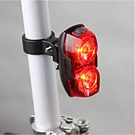 billige Sykkellykter og reflekser-Baklys Baklys til sykkel LED Sykling Vanntett Super Lett AAA Lumens Batteri Sykling
