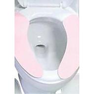 Χαμηλού Κόστους Αξεσουάρ μπάνιου-χρώμα τύπου πάστα μαξιλάρι του καθίσματος τουαλέτας βολικό να μεταφέρει με επαναλαμβανόμενες τουαλέτα πλύσιμο μαξιλάρι του καθίσματος