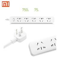 billige -original Xiaomi mi strømskinne stikkontakt socket 5 huller socket plug med socket standard socket hurtig opladning original æske