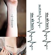 1 Tatoeagestickers Dieren SeriesBaby / Kind / Dames / Heren Flash Tattoo tijdelijke Tattoos