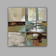 voordelige -Hang-geschilderd olieverfschilderij Handgeschilderde - Abstract Klassiek Modern Kangas