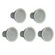 7W GU10 Lâmpadas de Foco de LED MR16 21 leds SMD 2835 Branco Quente 550-600lm 3000K AC 100-240V
