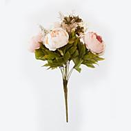 billige Kunstig Blomst-Kunstige blomster 1 Afdeling Europæisk Stil Pæoner Bordblomst