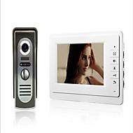 billige Dørtelefonssystem med video-800 x 480 92° CMOS Doorbell System Tilkoblet Fotografert / Multifamily video ringeklokke