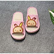 tanie Pantofle-Tradycyjny Dom klapki Pantofle damskie Materiał Materiał