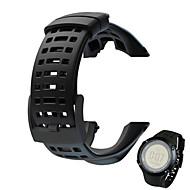 billiga Smart klocka Tillbehör-Klockarmband för SUUNTO AMBIT 2 Suunto Sportband Gummi Handledsrem