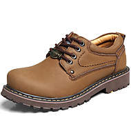 Men's Oxfords Spring / Summer / Fall / Winter Comfort Nappa Leather Outdoor / Athletic / Casual Brown / Yellow Hiking
