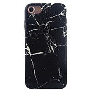 Käyttötarkoitus iPhone X iPhone 8 iPhone 7 iPhone 7 Plus iPhone 6 kotelot kuoret Kuvio Takakuori Etui Marble Pehmeä TPU varten Apple