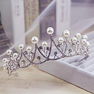 Imitacija bisera Umjetno drago kamenje Legura tijare 1 Vjenčanje Special Occasion Kauzalni Glava