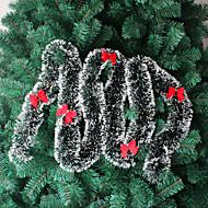 decorações 10pcs árvore de Natal enfeite de Natal verde branco natal enfeites de natal topos Madder (estilo aleatório)