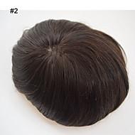 Görünmez mono etrafında pu merkezli mens peruk 8x10 erkekler gerçek saç mono düz nefes doğal saç çizgisi dayalı