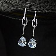 cheap Jewelry Clearance-Earring Rhinestone Earrings Set Jewelry Women Wedding / Party Rhinestone / Silver Plated 1 pair Clear