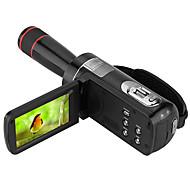 Other Plastic Multi-funcția de aparat foto 1080P / Anti-Şoc / detectare zâmbet / Ecran Touch Negru