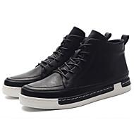 Kényelmes-Talp-Női cipő-Tornacipők-Alkalmi-Mikroszálas-Fekete Barna Szürke