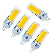 billige Bi-pin lamper med LED-270 lm LED-lamper med G-sokkel 1 leds COB Mulighet for demping Varm hvit Kjølig hvit AC220 AC 85-265V