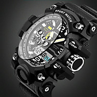 billige Militærur-SANDA Herre Quartz Armbåndsur / Sportsur Alarm / Kalender / Vandafvisende / Sej / Selvlysende i mørke / Stopur / Selvlysende Plastik Bånd