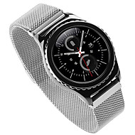 billiga Smart klocka Tillbehör-Klockarmband för Gear S2 Samsung Galaxy Milanesisk loop Modernt spänne Metall Rostfritt stål Handledsrem