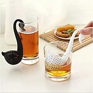 cisne novidade filtro coador forma de chá de ervas tempero filtro difusor