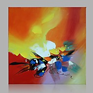 Hand-Painted Abstract / Leisure Artist F Aban Original Abstract Paintings Canvas Wall Art For Home Decor Ready to Hang