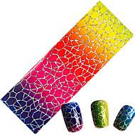 1 Sanat Sticker Nail Parıltı & Pudra Makyaj Kozmetik Sanat Tasarım Nail