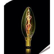 bofa c35 e27 40w edison art deco wolfram lyskilde (85v-265v)