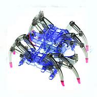 olcso Elektronikai berendezések és kellékek-rák Kingdom® napenergia játékok diy puzzle szerelő robot tudományos kísérlet új anyagok és technológiák a pók robot