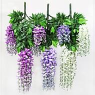 Gren Polyester Plastikk Planter Bordblomst Kunstige blomster
