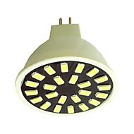 billige Spotlys med LED-240-280 lm GU5.3(MR16) LED-spotpærer G50 24LED leds SMD 5733 Varm hvit Kjølig hvit AC110 AC220 AC 220-240V
