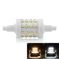 billige Kornpærer med LED-SENCART 5W 450-500lm R7S LED-kornpærer Innfelt retropassform 36 LED perler SMD 2835 Mulighet for demping Varm hvit / Kjølig hvit 85-265V