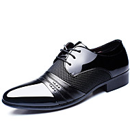 cheap -Men's Shoes Cowhide Spring Summer Fall Winter Formal Shoes Comfort Oxfords Walking Shoes Black Brown