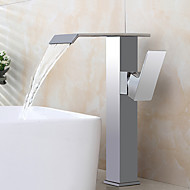 Bathroom Sink Faucet Contemporary Design Waterfall