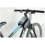ROSWHEEL Mobilveske Vesker til sykkelramme 5.5 tommers Reflekterende Stripe Vanntett Regn-sikker Anvendelig Berøringsskjerm Telefon/Iphone