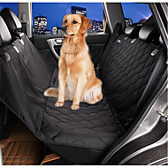 Dog Car Seat Cover Pet Mats & Pads Waterproof Foldable Black For Pets