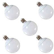 billige Globepærer med LED-5pcs 900 lm E26 / E27 LED-globepærer G95 30 LED perler SMD 5630 Dekorativ Varm hvit / Kjølig hvit 220-240 V / 5 stk. / RoHs / CCC